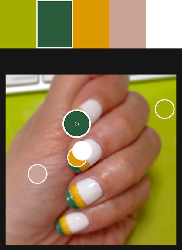 April nail color